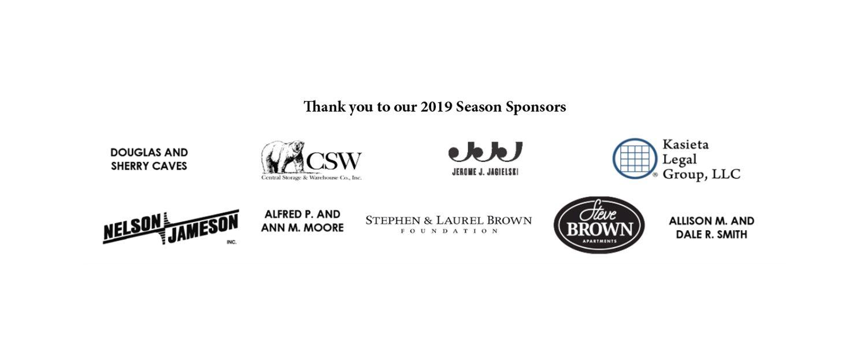 2019 Season Sponsors For Inside Scoop