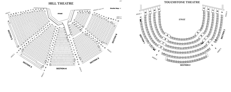 2021 Seating Charts