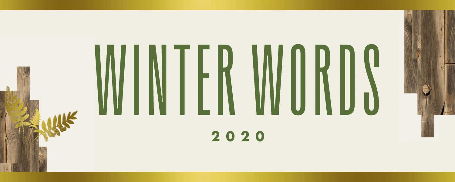 Winter Words 2020 Marquee