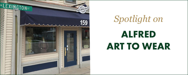 Spotlight: Alfred Art to Wear