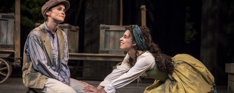 """In pastoral comedy 'As You Like It,"""" APT stages tangled tongues and trees"""