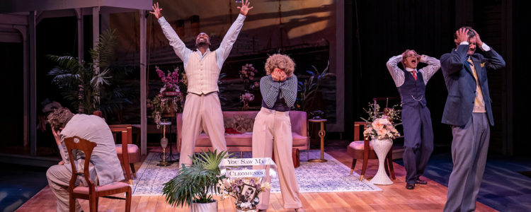 Theater review: American Players Theatre's 'Rough Crossing' is a breezy voyage of farcical charms